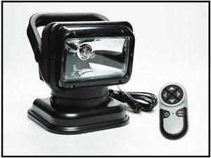 Black Portable RadioRay Remote Control Halogen Spotlight with Magnetic Shoe