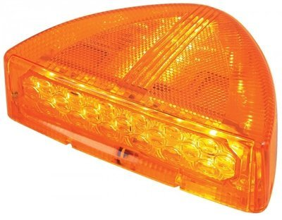 30 LED Low Profile Turn Signal with Amber or Clear Lens for Peterbilt