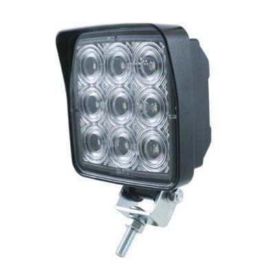 9 High Power 0.5 Watt 500 Lumen SMD LED Square Work Light