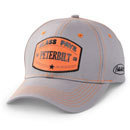 3D Orange Patch Cap