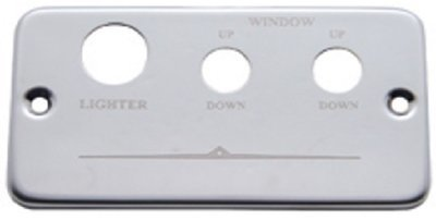 Freightliner Stainless Steel Lighter and Window Plate