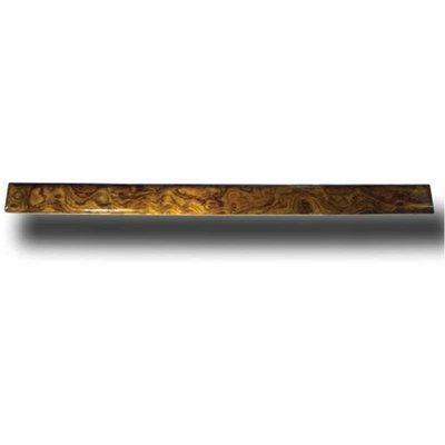 Windshield Trim Center Post Divider Genuine African Rosewood for Peterbilt 370 Series
