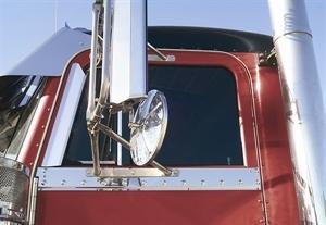 Peterbilt 359,379,362 Door Window Air Deflectors