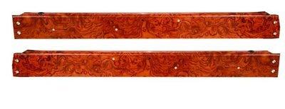 Peterbilt 370 Door Windowsill-Genuine Rosewood