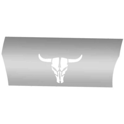 Longhorn Stand-Up Sleeper Cab Stainless Steel for Peterbilt