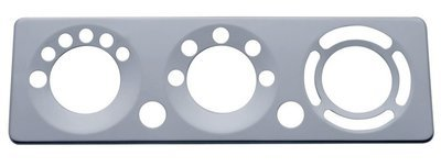 Stainless Steel A/C Control Plate for Peterbilt 2006+