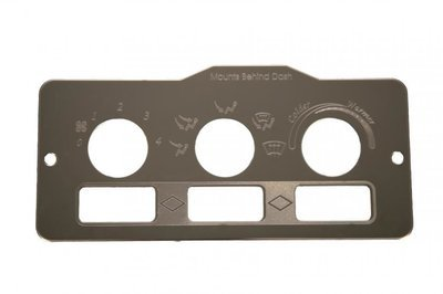 Control Plates-A/C Heater for Peterbilt