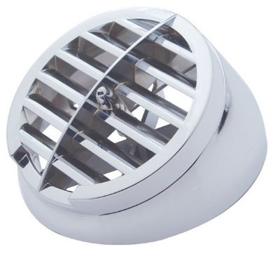 Chrome Plastic A/C Vent Replacement for Peterbilt