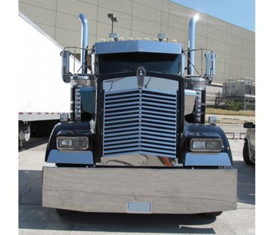Angled Louvered Grille - 16 Bars for Kenworth W900L