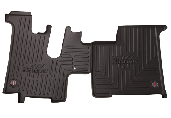Heavy Duty Floor Mat Kit for Kenworth T600; T660; T800; W900 (sleeper & extended day cabs)