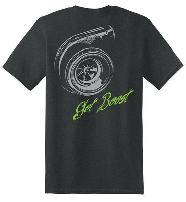 Diesel Life Turbo Short Sleeve T-Shirt - Tweed with Gray and Green Imprint