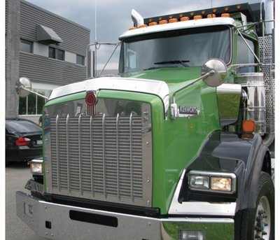 Stainless Steel Bug Deflector for Kenworth T800