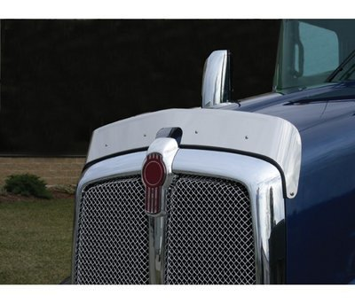 Stainless Steel Bug Deflector for Kenworth T660