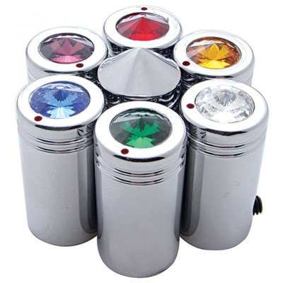 C.B. Channel Knobs with Diamond in Different Colors