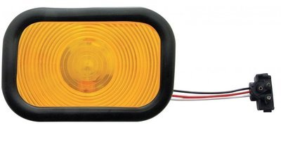 Rectangular Turn Signal with or without Grommet