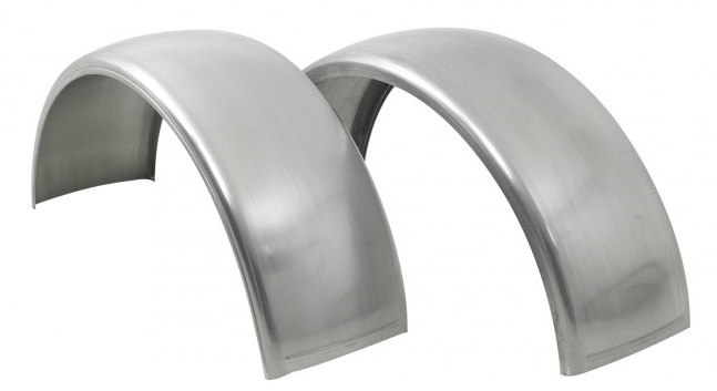 Aluminum Front Fender - Driver or Passenger Side for Peterbilt 379