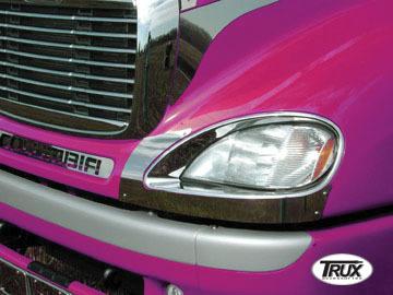 Freightliner Columbia Headlight Fender Guard