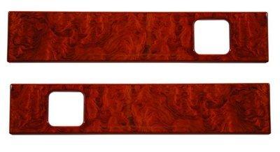 Peterbilt Door Insert Panel-Genuine Rosewood