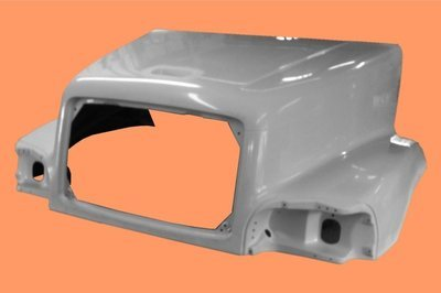 Economy Hood for Freightliner Century C120 LH Breather 1997-2002