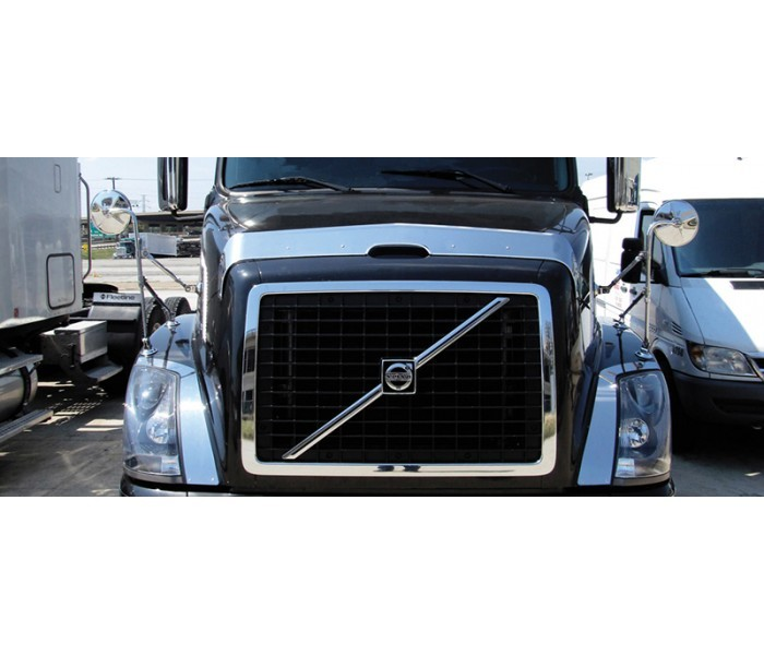 Stainless Steel Bug Deflector for Volvo VN Series