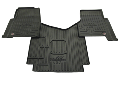 Heavy Duty Floor Mat Kit for Freightliner Cascadia 113; Cascadia 125; Cascadia Evolution 125; Cascadia Evolution 113 (all w/auto/man. trans)