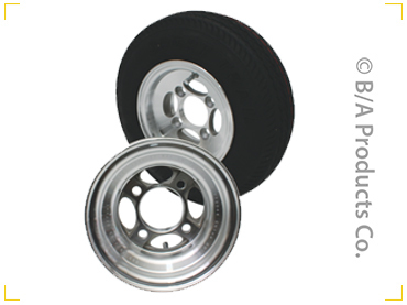 Replacement Aluminum Wheels & Dolly Tires for In The Ditch