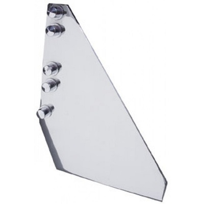 Stainless Steel Side Step Plate for Kenworth