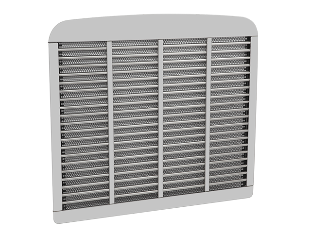 Freightliner Classic XL Stainless Steel Grille