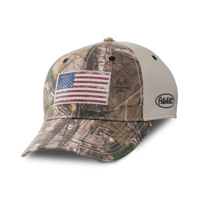 Peterbilt Realtree Camo Flag Hat