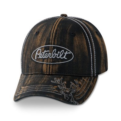 Peterbilt Buck Stitch Hat