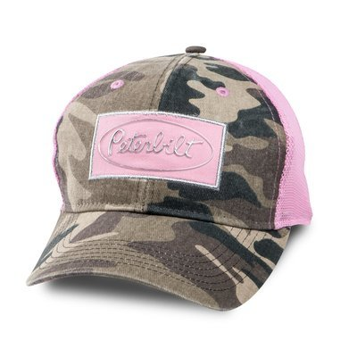Peterbilt Ladies Camo Mesh Hat