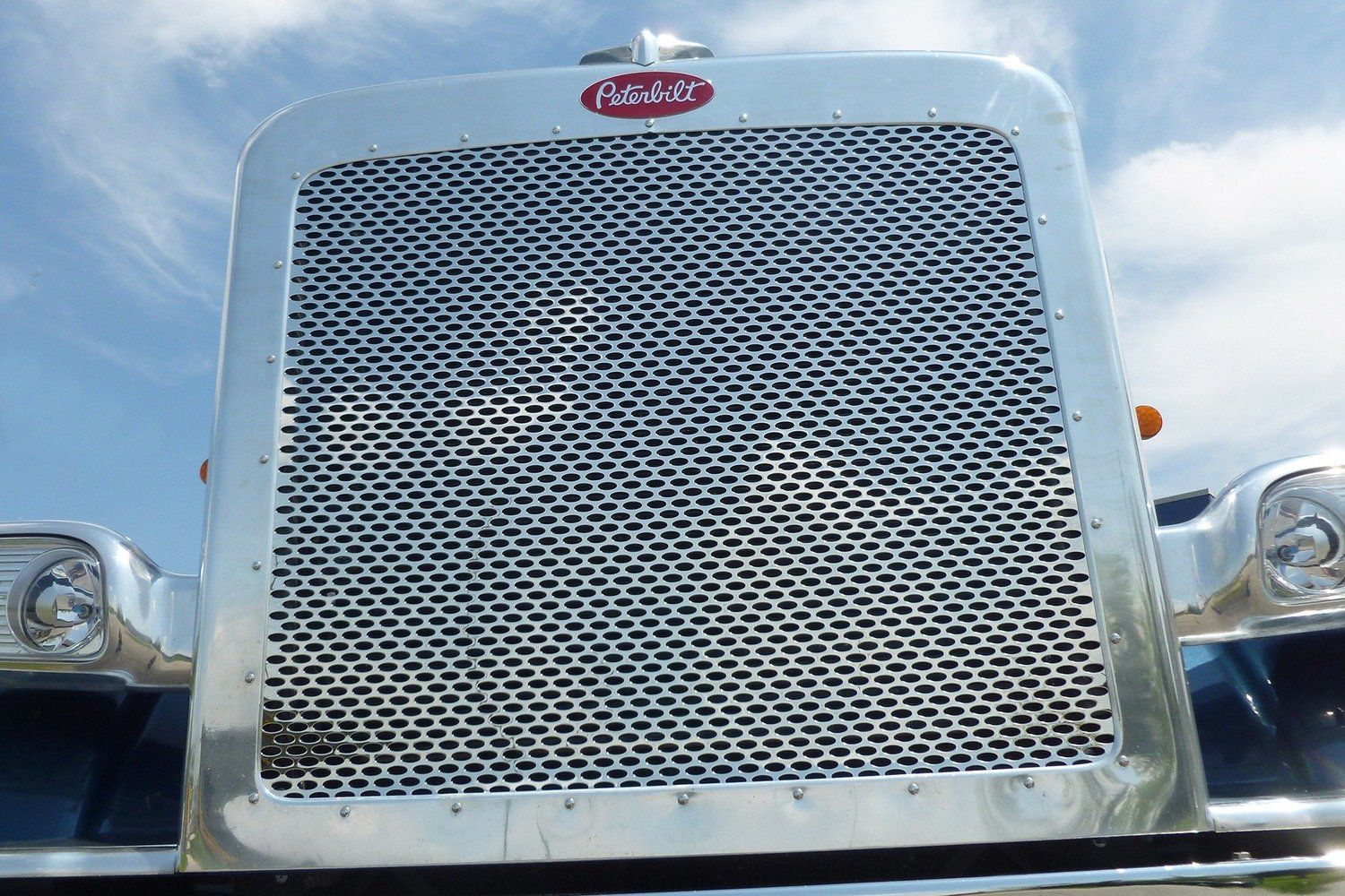 Peterbilt Punched Grill