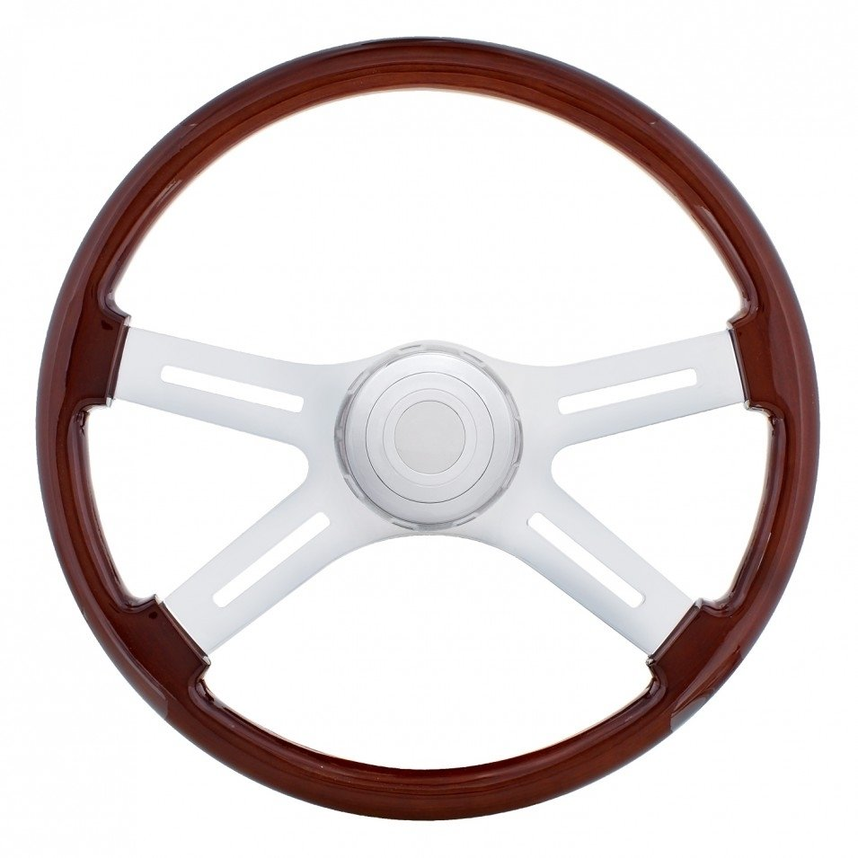 Wood Steering Wheel for International