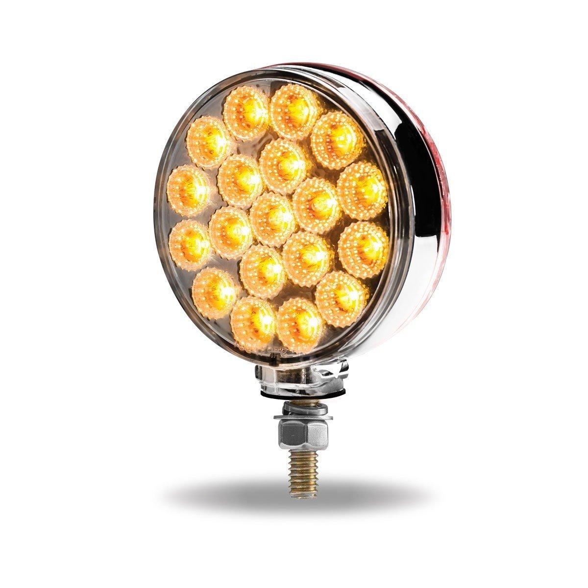 Double Face LED Dual Revolution Light