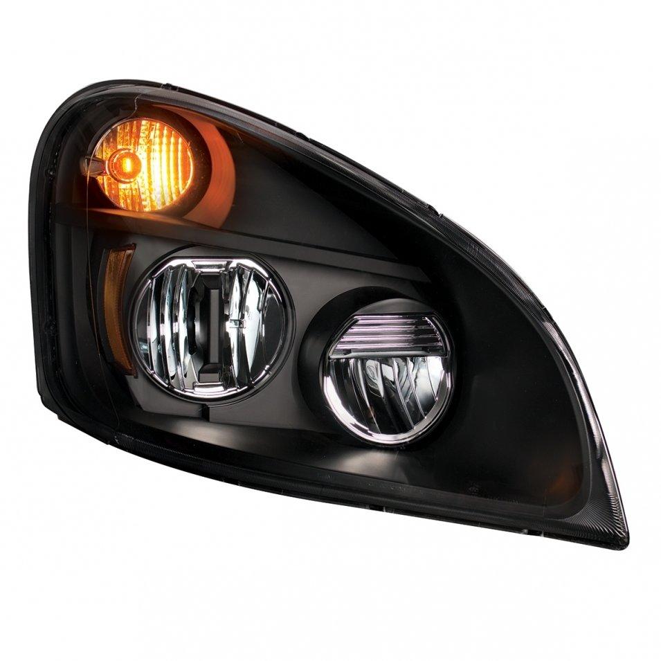 LED Blackout Headlight - Passenger Side for 2008-2016 Freightliner Cascadia