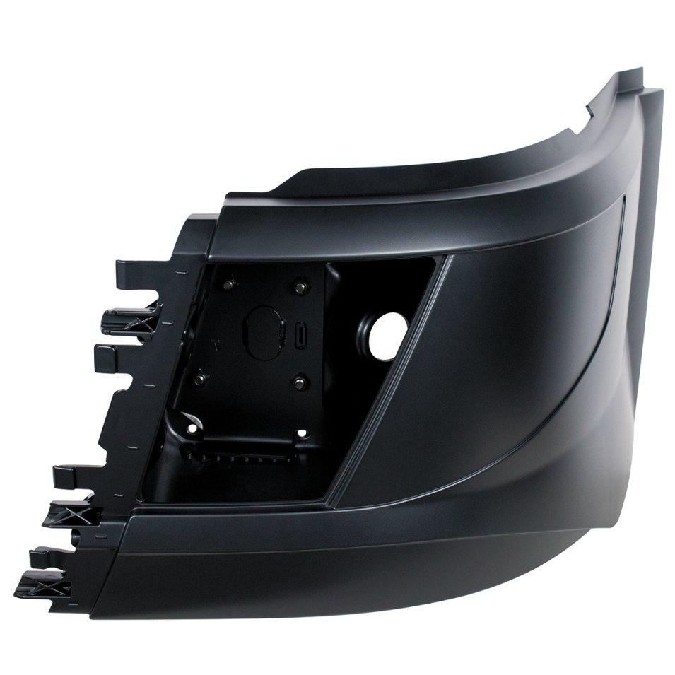 Short Hood Bumper End - Screw Mount Fog Light - Driver for 2015 Volvo VN / VNL