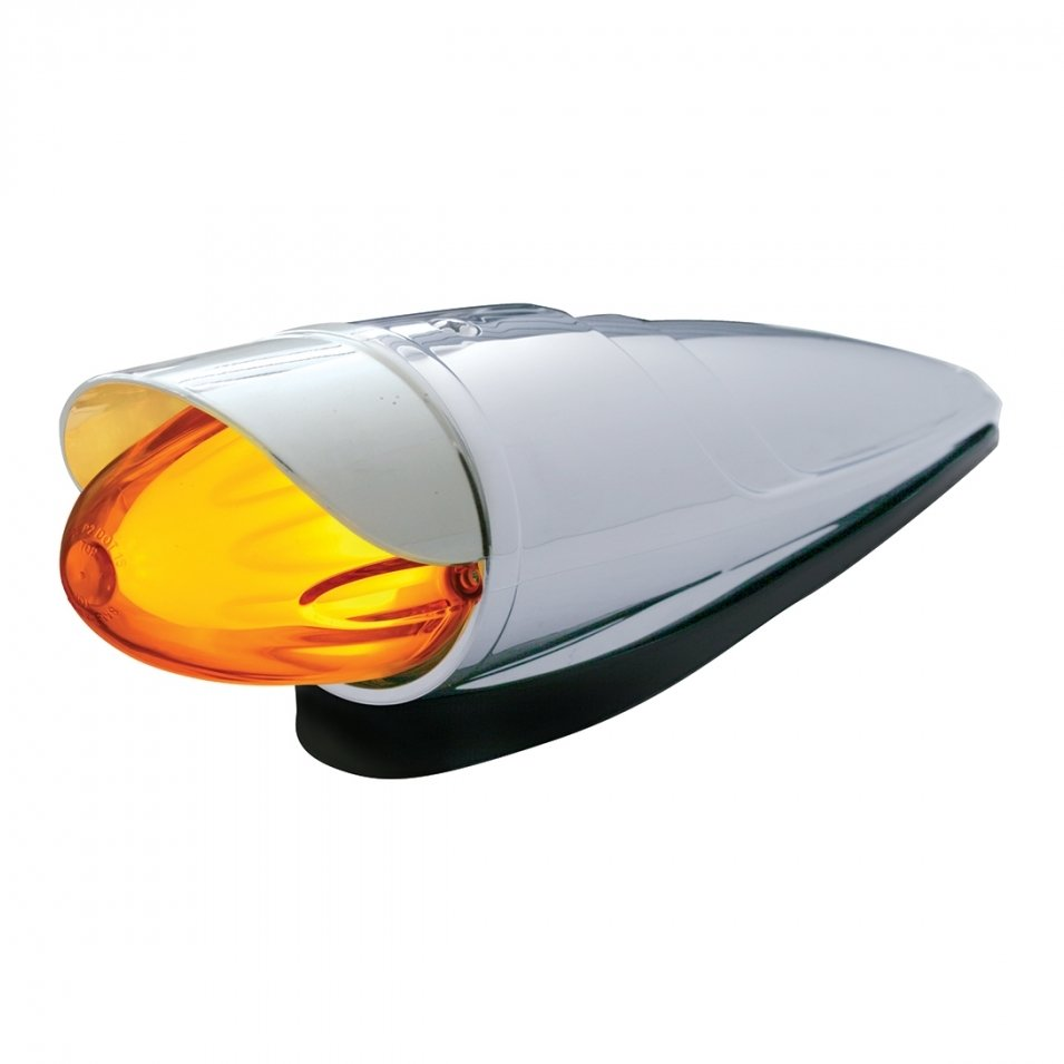 LED Watermelon Grakon 1000 Cab Light Kit w/ Visor - Amber LED/Amber Lens
