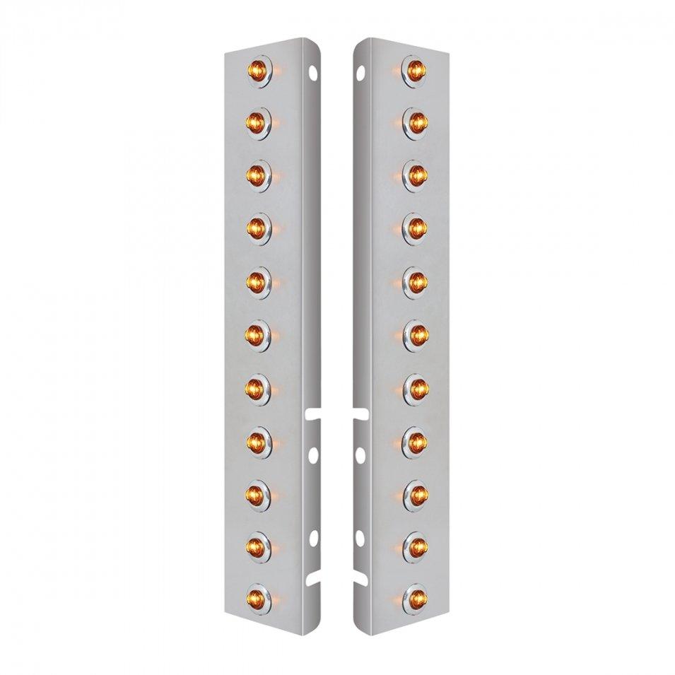Front Air Cleaner Mini LED Light Panels for Peterbilt