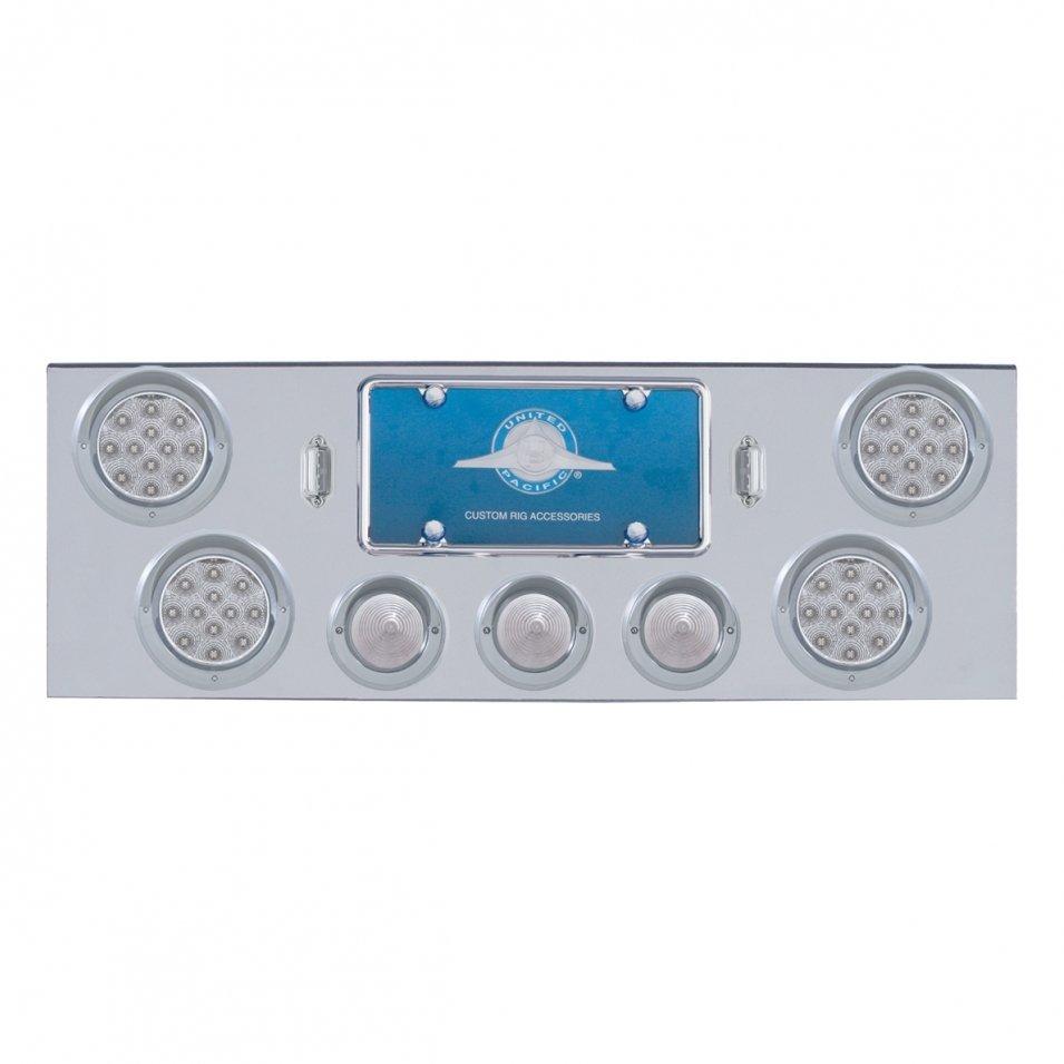 Rear Center Panel w/ Reflector LED 1/2