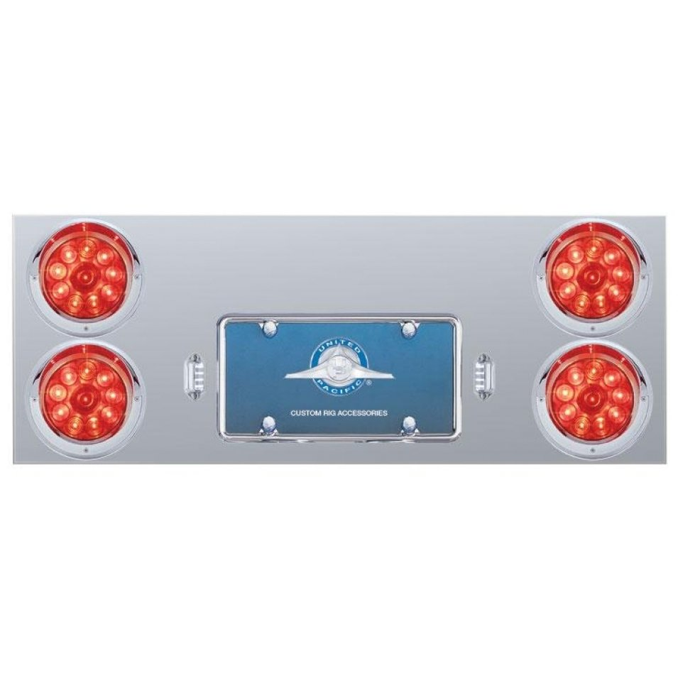 Rear Center Panel w/ Four 10 LED 4