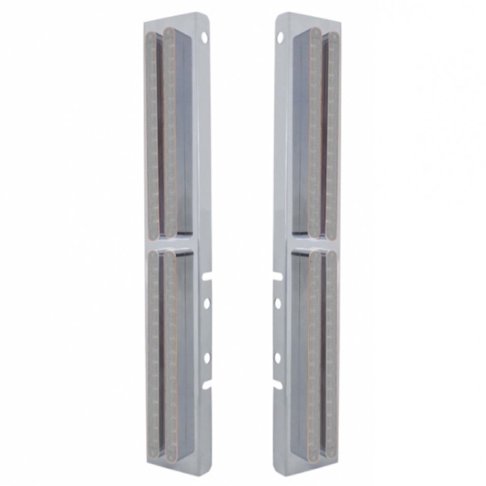 Front Air Cleaner LED Light Bar Panels for Peterbilt