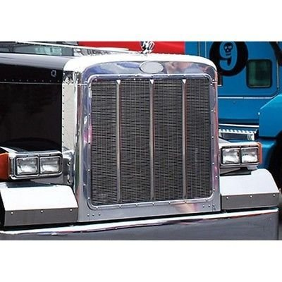 Extended Hood Grille Surround, Chrome for Peterbilt 379