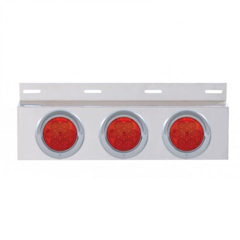 Top Mud Flap Plate w/ Three 7 LED 4
