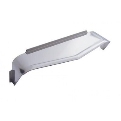 Stainless Steel Rectangular Headlight Visor