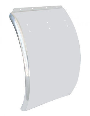 Deluxe Curved Quarter Fender, 24