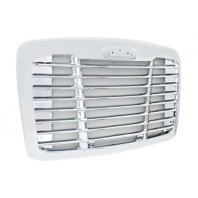 Grille with Aluminum Chrome Bug Screen for Freightliner Cascadia 2008+