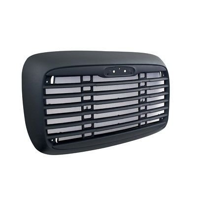 Grille with Bug Screen and Logo Cutout for Freightliner Columbia 2000-2014 - Black