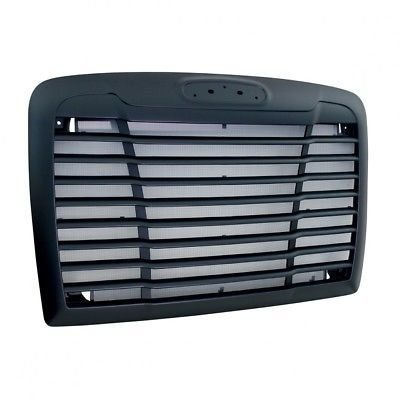 Grille with Bug Screen w/ Logo Cutout - Black for Freightliner Century 2005+