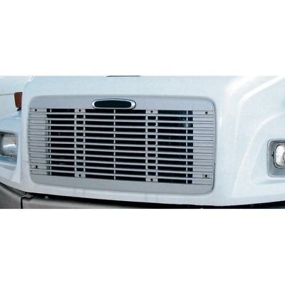 Silver Grille with Bug Screen for Freightliner FL 60/70/80/106/112