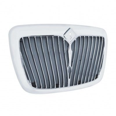 Grille with Bug Screen, Chrome for International ProStar 2008+